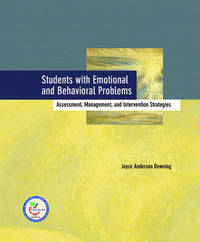Students with Emotional and Behavior Problems by Judi Carlson