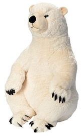 Little Biggies: Polar Bear - 30 Inch Plush