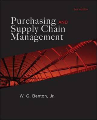 Purchasing and Supply Chain Management by W.C Benton image