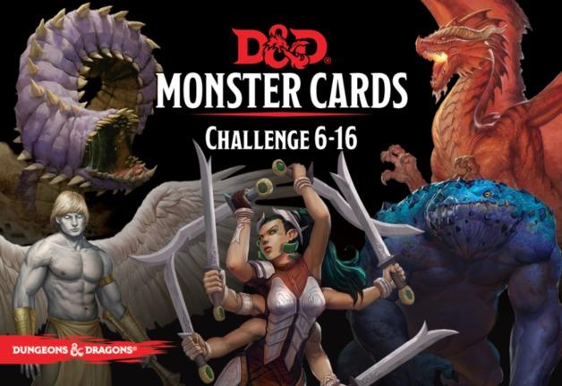 D&D Spellbook Cards Monster Deck 6-16 (74 cards)