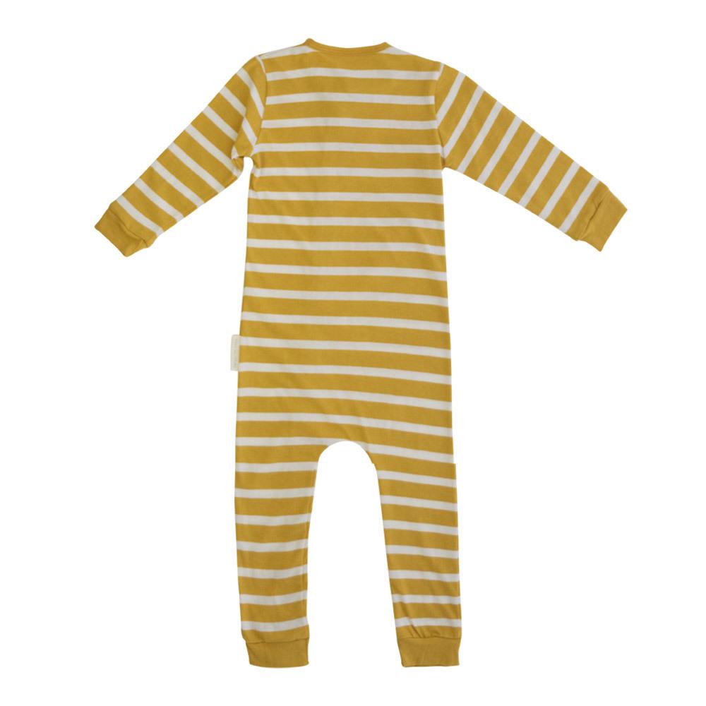 Woolbabe: Merino Organic Cotton PJ Suit - Kowhai (3-6 Months) image