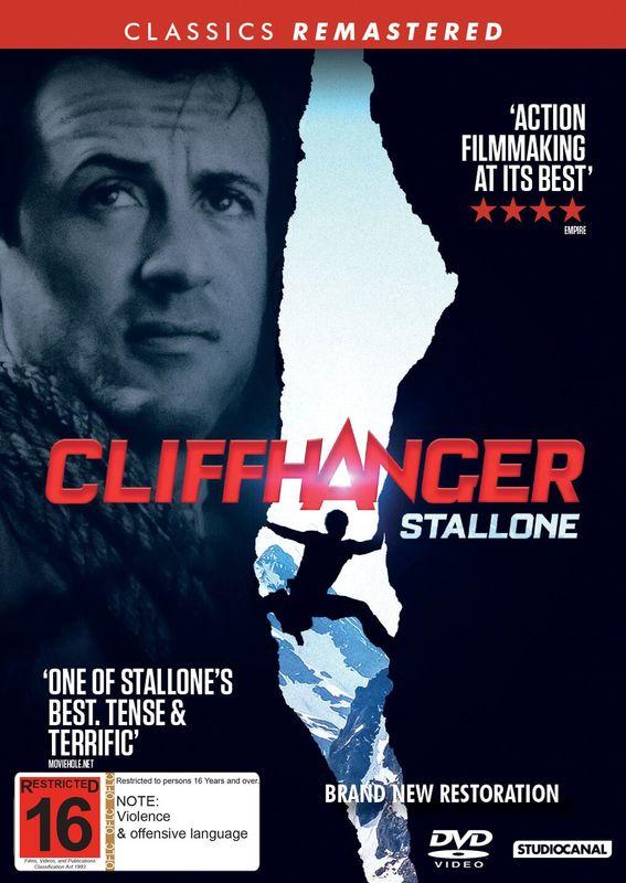 Cliffhanger on DVD