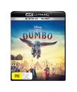 Dumbo (2019) on Blu-ray, UHD Blu-ray