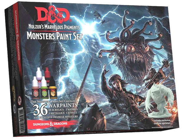 Army Painter D&D Monsters Paint Set
