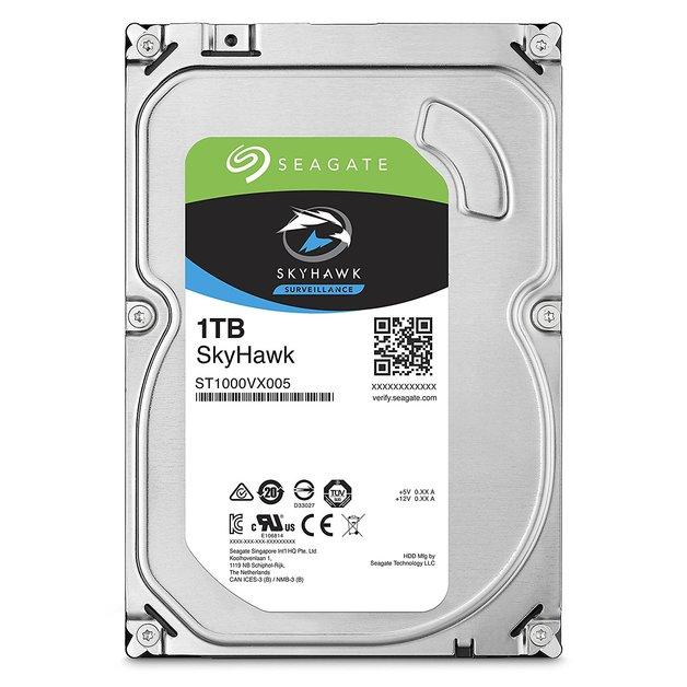 "1TB Seagate SkyHawk Surveillance SATA 6Gb/s 64Mb Cache 3.5"" Internal Hard Drive"