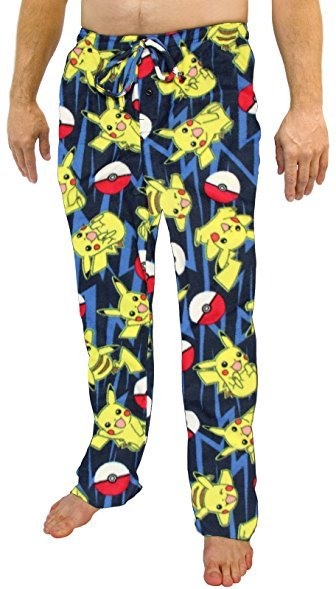 Pokemon: All Over Print - Microfleece Pants - (Large)