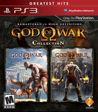 God of War Collection (1 & 2) for PS3