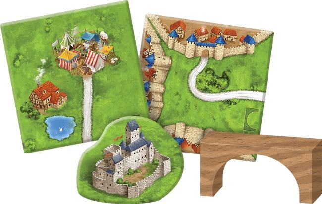 Carcassonne: Bridges, Castles & Bazaars - 2nd Edition image