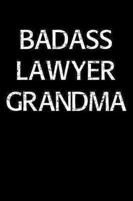 Badass Lawyer Grandma by Standard Booklets image