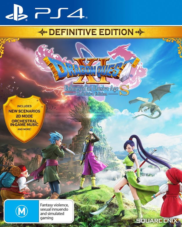 Dragon Quest XI S: Echoes of an Elusive Age Definitive Edition for PS4