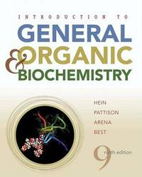 Introduction to General, Organic, and Biochemistry by Morris Hein image