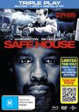 Safe House on DVD, Blu-ray, DC