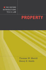 The Oxford Introductions to U.S. Law by Thomas W Merrill