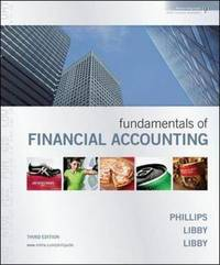 Fundamentals of Financial Accounting with Annual Report by Sir Fred Phillips image