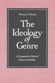 The Ideology of Genre by Thomas O Beebee image