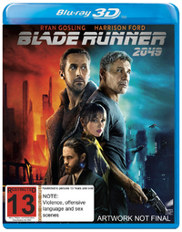 Blade Runner 2049 on 3D Blu-ray