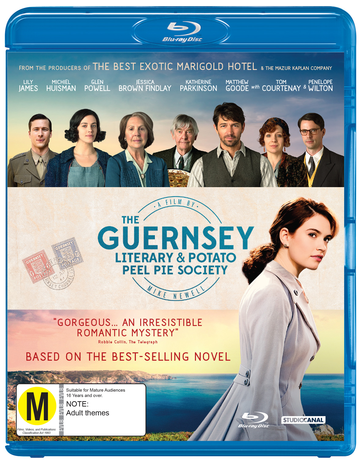 The Guernsey Literary And Potato Peel Society on Blu-ray image