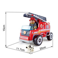 Hape: Fire-Engine - Wooden Playset image
