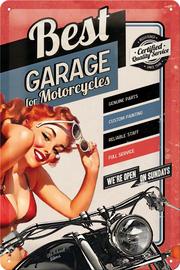 Nostalgic Art: Tin Sign - Best Garage