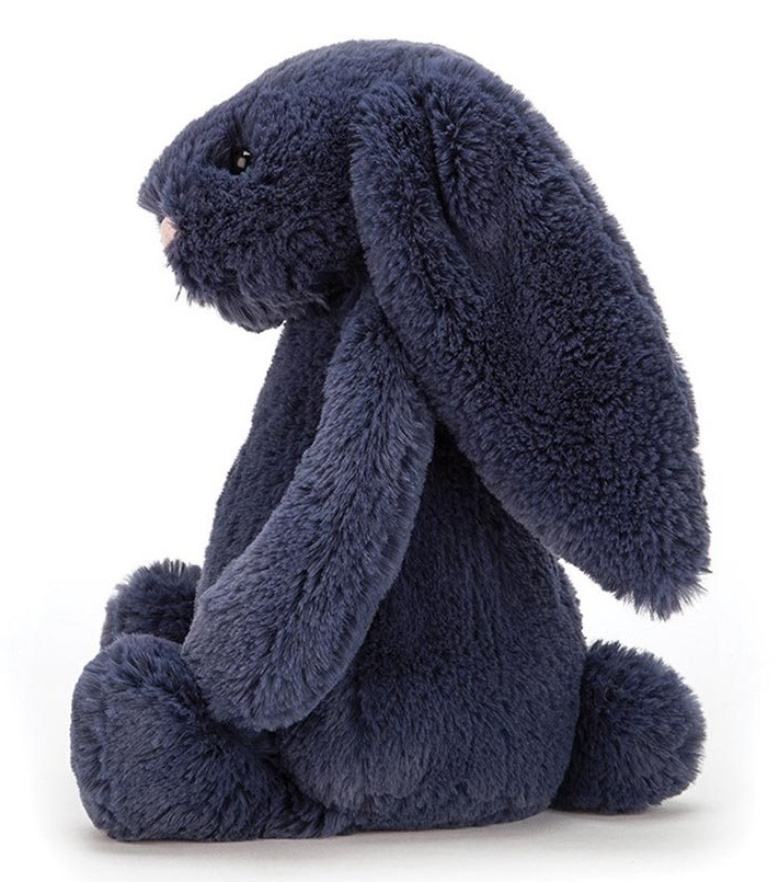 Jellycat: Bashful Navy Bunny - Small Plush image