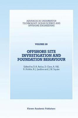 Offshore Site Investigation and Foundation Behaviour image