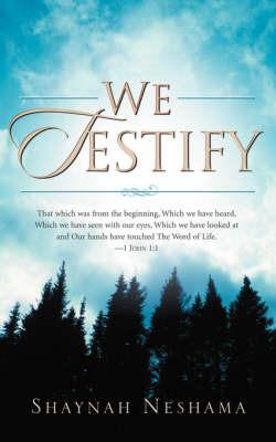 We Testify by Shaynah Neshama image