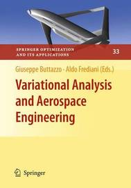 Variational Analysis and Aerospace Engineering by Giuseppe Buttazzo