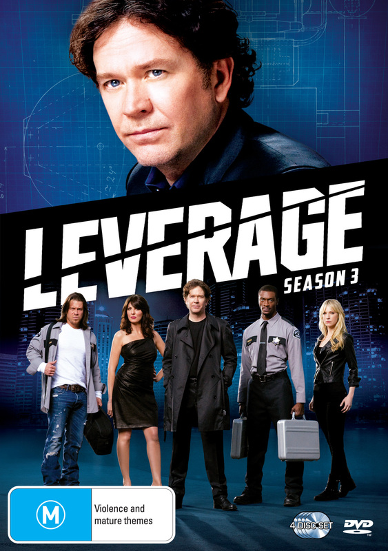 Leverage - Season 3 (4 Disc Set) on DVD
