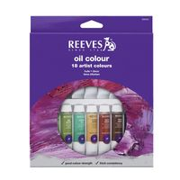 Reeves Oil Colour Set of 18