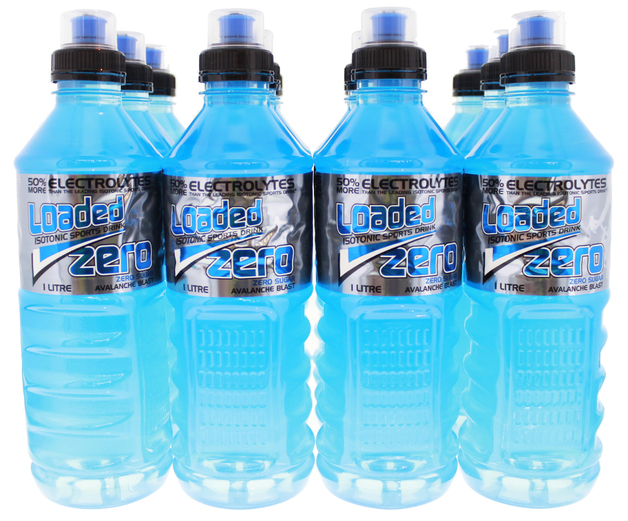 Loaded Sports Drink - Zero Avalanche Blast (1L)