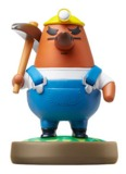 Nintendo Amiibo Mr Resetti - Animal Crossing Figure for Nintendo Wii U