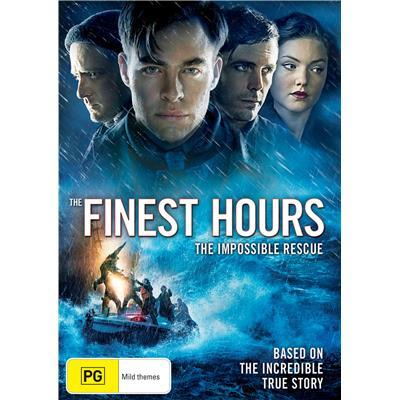 The Finest Hours on DVD