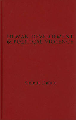 Human Development and Political Violence by Colette Daiute image