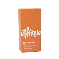 Ethique GingerSnap Gentle Face Scrub Bar for All Skin Types (100g)
