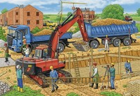 Ravensburger : Construction Site Puzzle 2x12pc