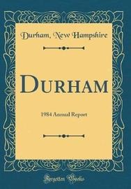 Durham by Durham New Hampshire