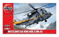 Airfix 1:72 Westland Sea King HAR.3/Mk.43 Scale Model Kit