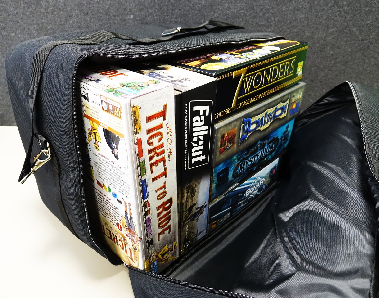 Mighty Ape Board Game Bag - Messenger Style image