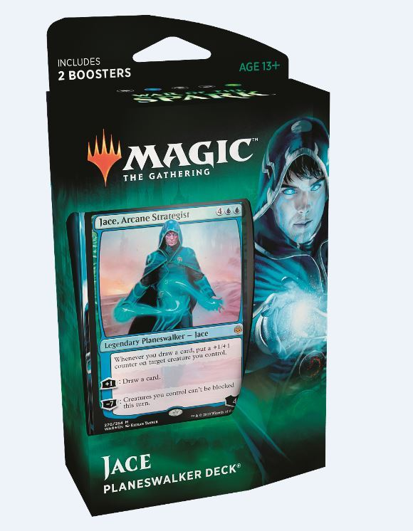 Magic The Gathering: War of the Spark Jace Planeswalker Deck
