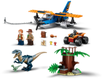 LEGO Jurassic World: Velociraptor - Biplane Rescue Mission (75942)