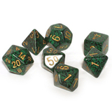 Chessex Speckled Polyhedral Dice Set - Golden Recon