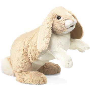 Folkmanis Hand Puppet - Floppy Bunny Rabbit