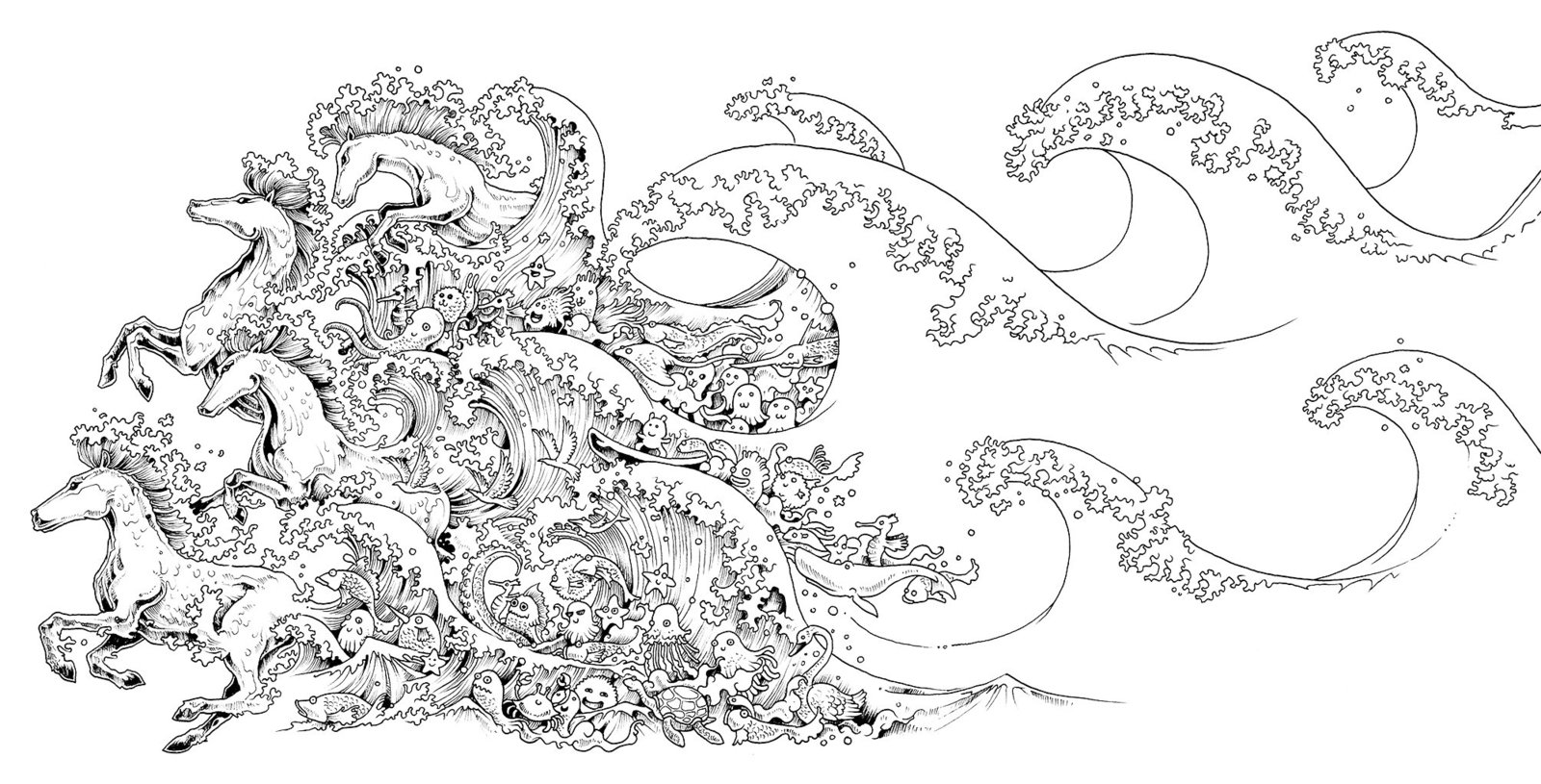 Animorphia kerby rosanes book in stock buy now at for Extreme coloring pages