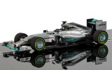 Scalextric: Mercedes F1 2015 - Slot Car