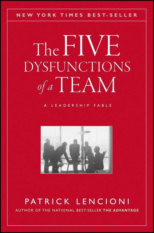 The Five Dysfunctions of a Team by Patrick M Lencioni