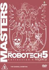 Robotech - Masters: Collection 5 (3 disc boxed set) on DVD