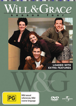 Will & Grace - Season 4 (4 Disc Set) on DVD