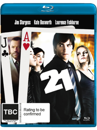 21 on Blu-ray