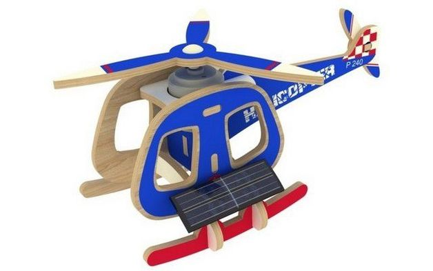 Robotime: Aircraft Helicoptor