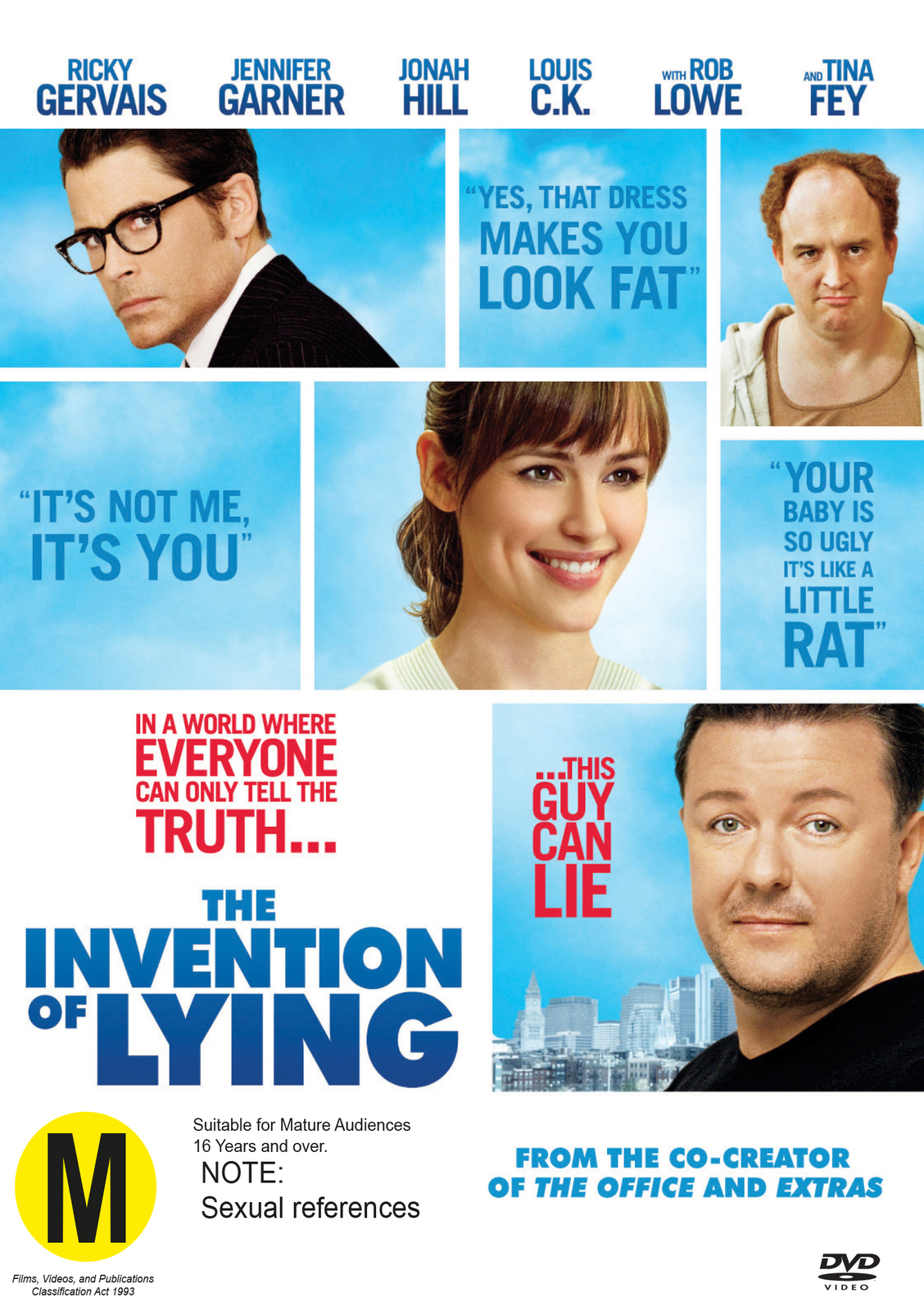 The Invention of Lying on DVD image